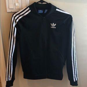 Black Adidas Zip-Up Jacket (Never Been Worn)